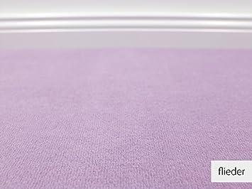 Teppichboden muster vorwerk  Teppichboden Auslegware Vorwerk Bijou UNI Flieder Muster: Amazon ...