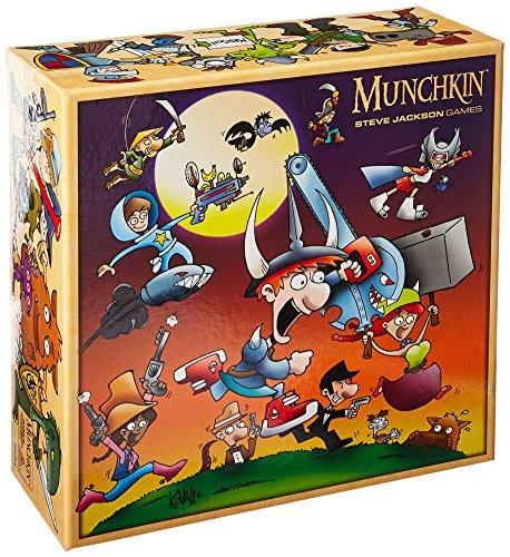 Steve Jackson Games sjg05594-Juego de Cartas Munchkin Monster Caja
