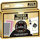 Copag Gold - 2x Poker Plastic Jumbo 2 - Poker