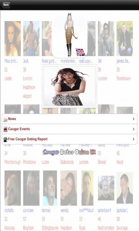 Cougar dating website gratis uk