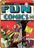 Wise Degree More Fun Comics #73 Enseigne en Fer-Blanc Affiche Club Restaurant Bar Maison Salon Magasin DšŠcoration