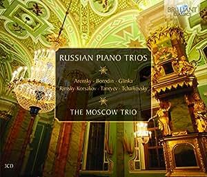 Russian Piano Trios: Music by Arensky; Borodin; Glinka; Rimsky-Korsakov; Taneyev; Tchaikovsky