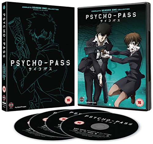 Psycho-Pass Complete Series Collection [4 DVDs] [UK Import]