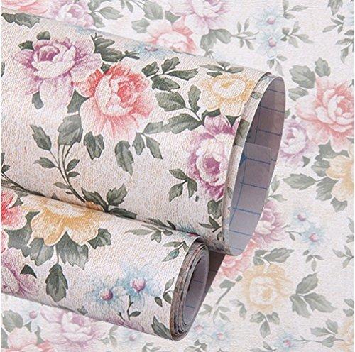 hangnuo-autoadhesivo-contacto-floral-estante-maletero-cajon-liner-mat-200-x-45-cm
