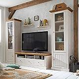 suchergebnis auf amazon.de für: landhausmöbel weiß - wohnwände ... - Wohnzimmermöbel Weiß Landhaus