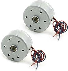 Mini Motor - SODIAL(R)2ST RC300 6000RPM DC 1.5-9V Micro Motor fuer CD DVD Spieler