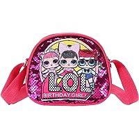 LOL Surprise Girl Mädchen Handtasche für Kinder, LOL Toys for Girls Pink Crossbody Handtasche, LOL Geschenke für Mädchen…