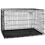 Best Dog Crates - Home Discount Pet Cage With Tray, Folding Dog Review