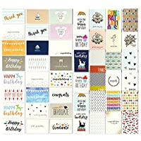 144 Pack Blank Assortment All Occasion Greeting Cards - Includes Thank You, Birthday, Sympathy Cards, 48 Various Designs - Bulk Box Set Variety Pack with Envelopes Included, 10 x 15 cm
