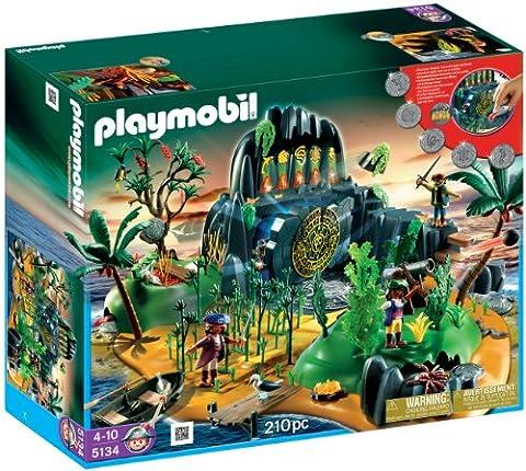 Playmobil - 5134 - Jeu de construction - Ile mystérieuse des pirates