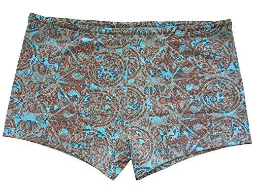 Solar Tan Thru Badehose Panty 142291 braun, Gr. 5, M
