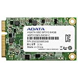 ADATA Premier Pro SP310 64GB SATA 6Gb/s mSATA Excellent Read up to 540MB/s Solid State Drive (ASP310S3-64GM-C)