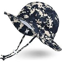 Ami & Li tots Unisex Bambino Regolabile Tesa Larga Protezione Solare UPF 50 eonata Ragazzo Cappello da Sole per Bambini…