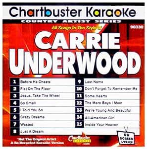Karaoke Carrie Underwood