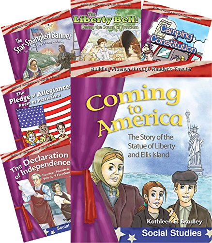 My America 6-Book Set (Reader's Theater) (Teacher Created Materials Library)