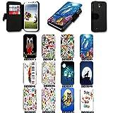Book Style Flip Handy Tasche Case Schutz Hülle Schale Motiv Etui für Huawei Ascend Y530 - A41 Design8