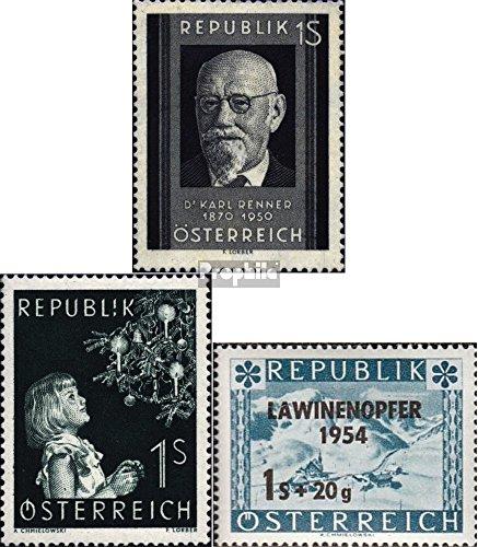 autriche-959994998-complteedition-1951-54-renner-nol-lawine-timbres-pour-les-collectionneurs