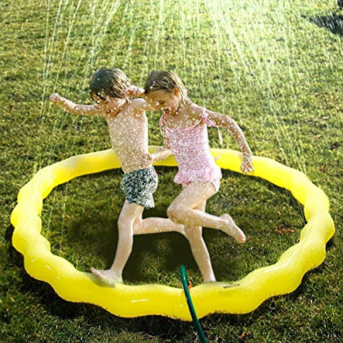 n Splash Spielen Matte Wasser Spray Spielzeug Kinder Baby Pool Pad Sommer Spaß Strand Outdoor Spielzeug für Kinder ()