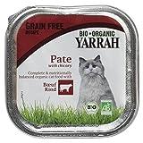 Yarrah Bio Katzennassfutter Rind mit Cichory, glutenfrei, 100 g