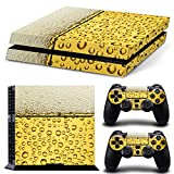 46 North Design Playstation 4 PS4 Folie Skin Sticker Konsole Beer aus Vinyl-Folie Aufkleber Und 2 x Controller folie