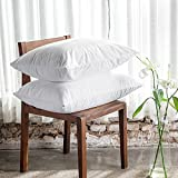 #4: Story@Home Hypoallergenic, Waterproof And Dustproof Pillow Protector, 17 Inch X 17 Inch (Set of 2) (White)