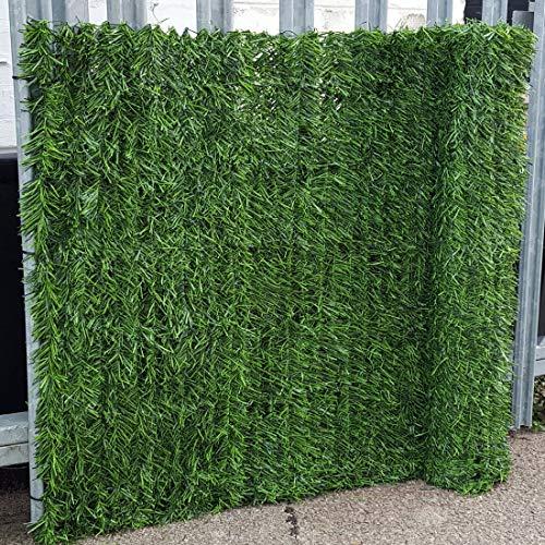 True Products Evergreen-1x 3m artificiales para coníferas cortasetos privacidad y vallas de...