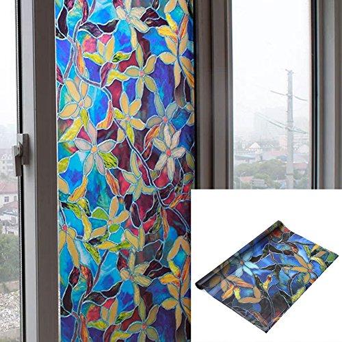 Pegatinas cristal esmerilado autoadhesivas ventanas