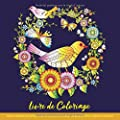 Livre de Coloriage Adultes Mandalas Anti-Stress - Livre de Coloriage pour Adulte: Mandalas de Fleurs, Oiseaux et Papillons