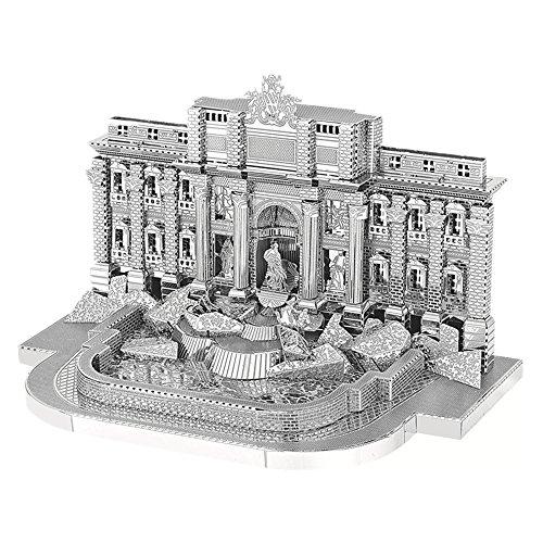 MTu 2018 3D Metall Puzzle Roman Trevi-Brunnen Modell Kits B22205 DIY 3D Laserschnitt Modell-Bausatz Spielzeug