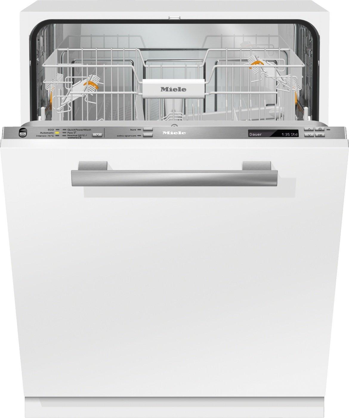 Miele G6770 Vi Geschirrspüler Vollintegriert / A+++ / 210 kWh / 13 MGD / QuickPowerWash / Alles restlos trocken AutoOpen-Trocknung