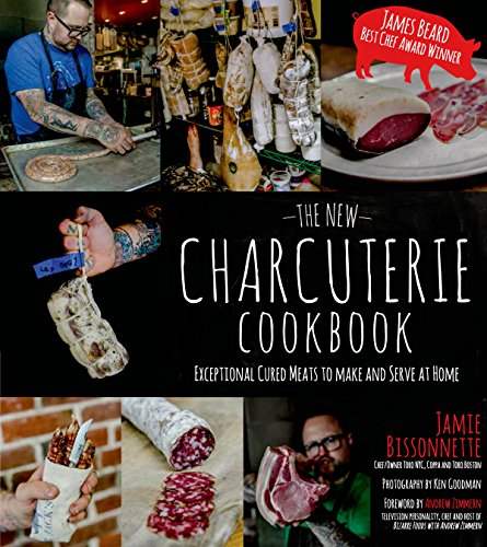 The New Charcuterie Cookbook Cover Image