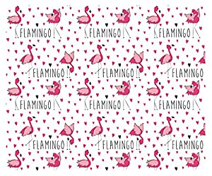 Ursus 11614602 Cartulina Flamingo, 300 g/m², DIN A4, 10 Hojas, Color Rosa