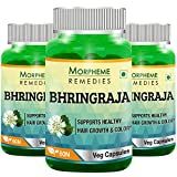 Morpheme Remedies Bhringraja 500 mg Extract Supplements (60 Capsules, Pack of 3)