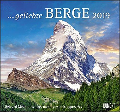 59b6dc8b3602df geliebte Berge 2019 - DuMont Wandkalender - mit den wichtigsten Feiertagen  - Format 38