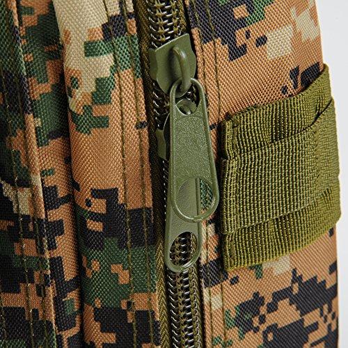 Molie 22cmx24cmx43cm Sport Outdoor Military Rucksacks Tactical Backpack Camping Hiking Trekking Bag Digital