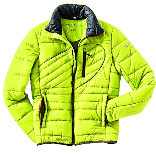 Northland Professional Microloft Cale – Veste de Montagne pour Homme, Couleur Jaune Neon, Taille XXL
