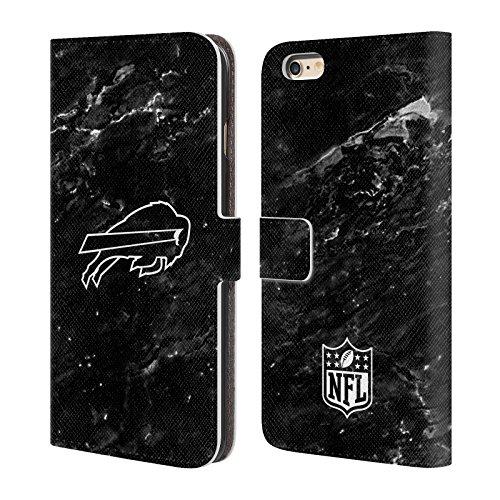 Ufficiale NFL Marmo 2017/18 Buffalo Bills Cover a portafoglio in pelle per Apple iPhone 4 / 4S Marmo