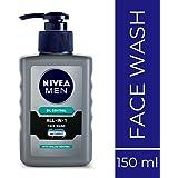 NIVEA Men All-In-1 Pump Facewash, 150ml