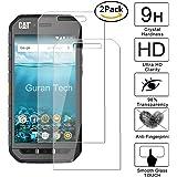 [2 Pack] Guran® Glass Protector pour CAT S41 Smartphone Screen Verre Trempé Protecteur d'écran Résistant aux éraflures Pour Caterpillar CS41