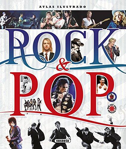 Atlas ilustrado Rock & Pop por Susaeta Ediciones S A