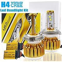 taitian ad alta potenza h4auto fari led lampadine Kit di conversione LED CREE 180W 18000lm 6500K Alta/Bassa beam-3Yr garanzia