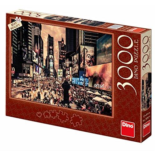 Dinotoys 563124 3000 Stücke von hoher Qualität PuzzleTimes Square NYC