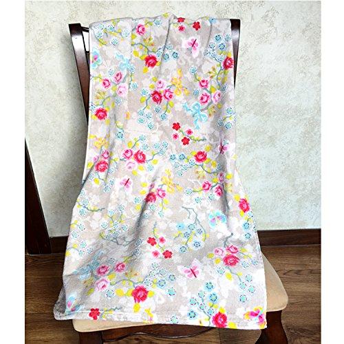 Mangeoo Holland Feld Wind Blume Serie Reine Baumwolle kleine Badetuch Persönlichkeit Strandtuch, 2,50 x 100 cm -