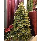 Set 2 x Edler Tannenbaum KONRAD mit Tannenzapfen, 480cm, Ø 270cm - künstlicher Weihnachtsbaum - artplants