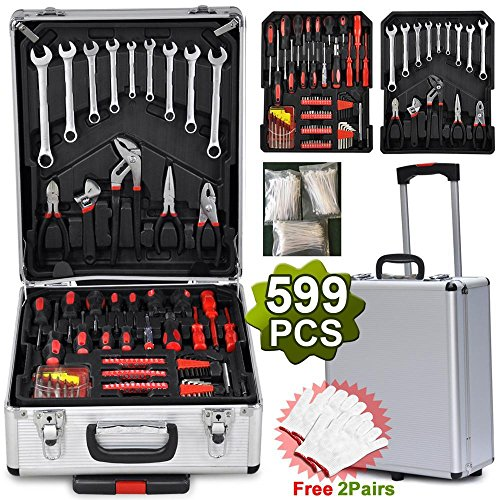 Yahee Universal Werkzeugkoffer (599-teilig)