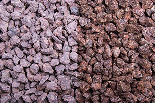Kies Splitt Zierkies Edelsplitt Roter Porphyr 8-11mm Sack 20 kg