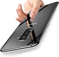 Custodia Samsung Galaxy S9 Plus, Orlegol Crystal Case Galaxy S9 Plus Custodia Silicone Cover Morbida Ultra Sottile Anti-graffio Antiurto TPU Bumper Case per Samsung Galaxy S9 Plus Cover Case - Trasparente