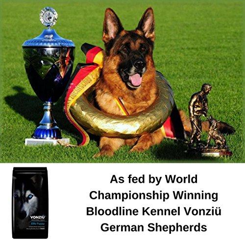 Vonziu Elite Premium Hundefutter / Welpenfutter – Hochenergetische Tiernahrung – Für kleine & große Hunderassen – Hypoallergen – Reich an Fischöl / Vitaminen / Mineralien – 100% Bio-Zutaten - 7
