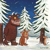 Neuroblastoma UK Axel Scheffler Gruffalo's Christmas Greeting Card (Pack of 8)