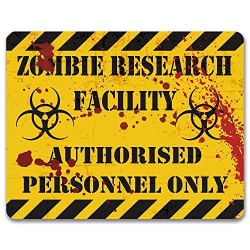 zombie ricerca impianto-Metallo porta o parete Sign/Plaque
